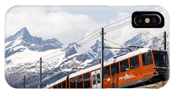 Matterhorn Railway Zermatt Switzerland IPhone Case