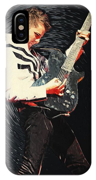 Coldplay iPhone Case - Matthew Bellamy by Zapista Zapista