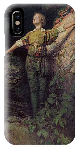 Maude Adams  Actress, As Peter Pan Phone Case by Mary Evans Picture Library
