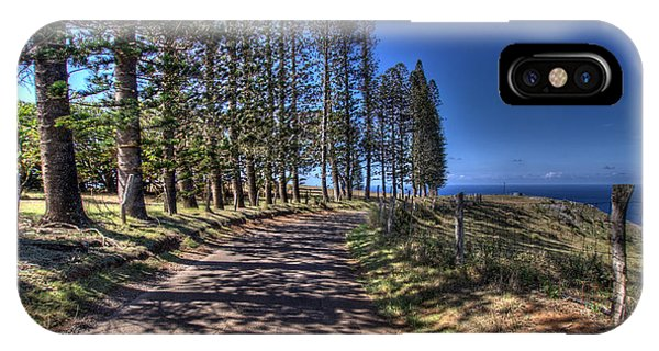 Maui Back Roads IPhone Case