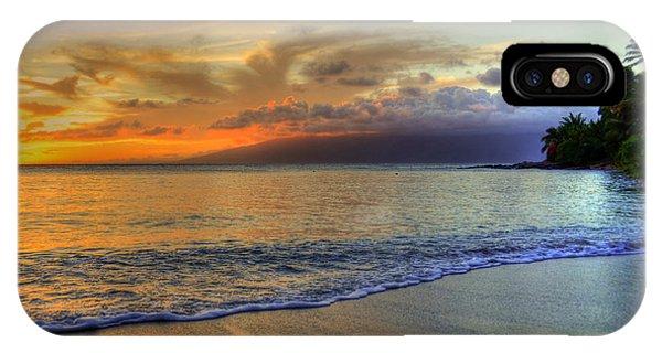 Maui Beach Sunset IPhone Case