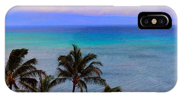 Maui Panorama IPhone Case