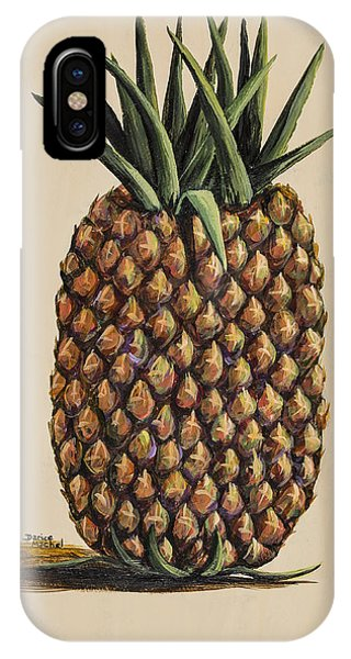 Maui Pineapple 3 IPhone Case