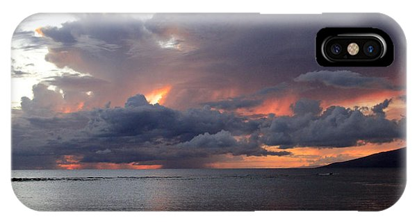 Maui Sunset IPhone Case