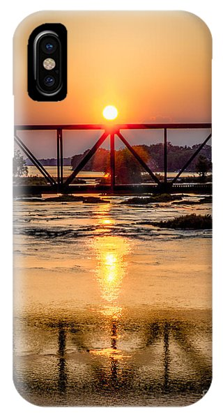 Maumee River At Grand Rapids Ohio IPhone Case