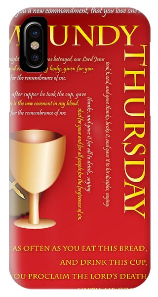 Maundy Thursday IPhone Case