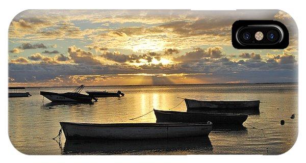 Mauritius Sunset IPhone Case