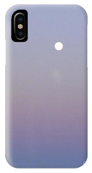 Mauve Moonlight IPhone Case