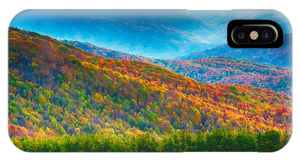 Max Patch Bald Fall Colors IPhone Case