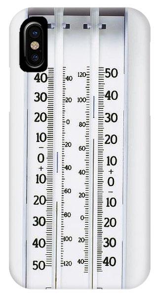 Maximum-minimum Thermometer Phone Case by Dorling Kindersley/uig