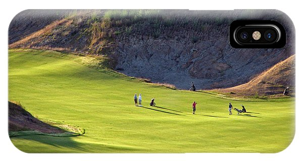 May I Play Through? - Chambers Bay Golf Course IPhone Case