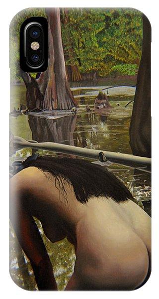 May Morning Arkansas River  2 IPhone Case