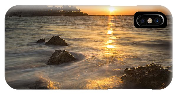 Maya iPhone Case - Mayan Coastal Sunrise by Adam Romanowicz