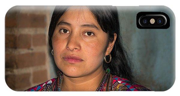 Mayan Girl IPhone Case