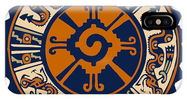 Mayan Hunab Ku IPhone Case