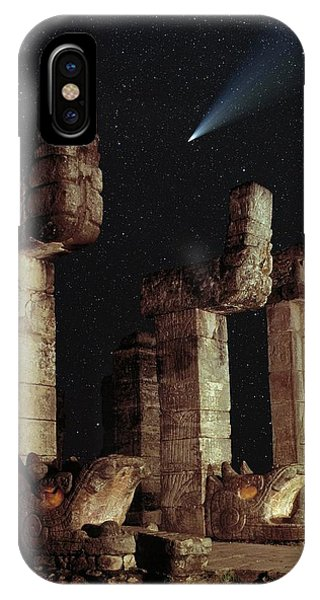 Maya iPhone Case - Mayan Ruins by David Parker/science Photo Library