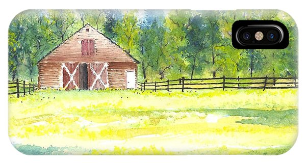 Mayberry's Barn IPhone Case