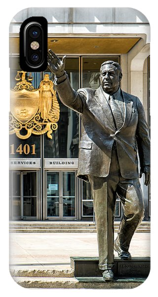 Mayor Frank L. Rizzo Monument IPhone Case