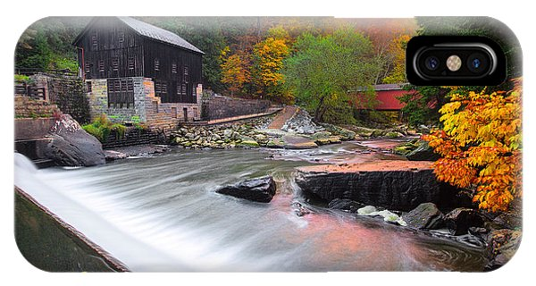 Mcconnell's Mill Fall  IPhone Case