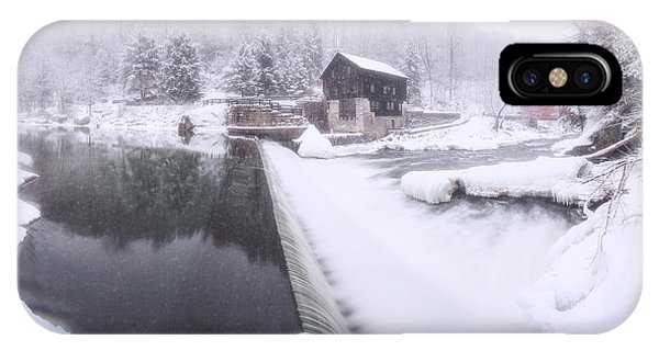 Mcconnell's Mill Winter  IPhone Case