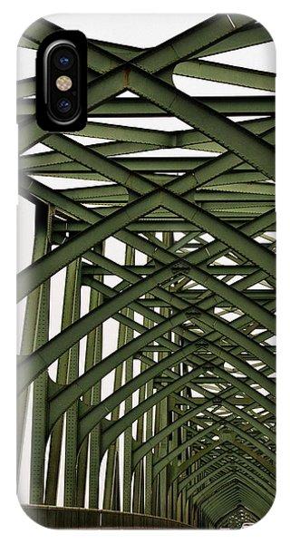 Mccullough Memorial Bridge IPhone Case
