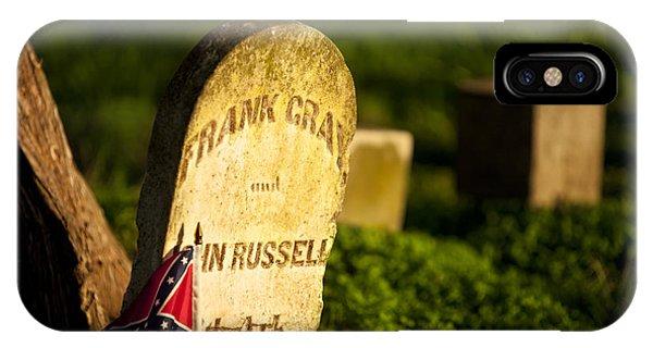 Mcgavock Confederate Cemetery IPhone Case