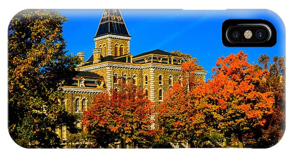 Mcgraw Hall Cornell University IPhone Case