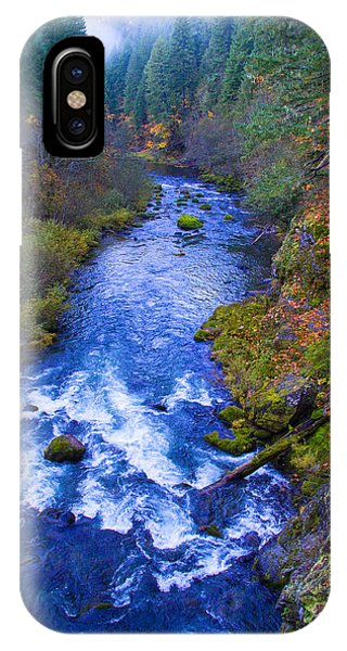 Mckenzie River In Autumn IPhone Case