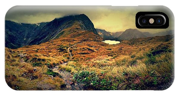 Cause iPhone Case - Mckinnon's Pass Panorama by Freya Doney