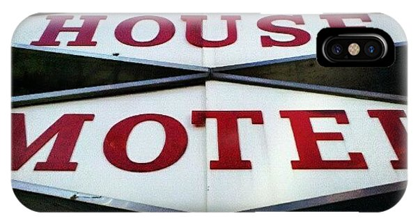 Ohio iPhone Case - Mcm Motel by Jill Tuinier