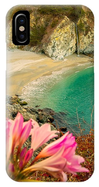 IPhone Case featuring the photograph Mcway Falls-3am Adventure by David Millenheft