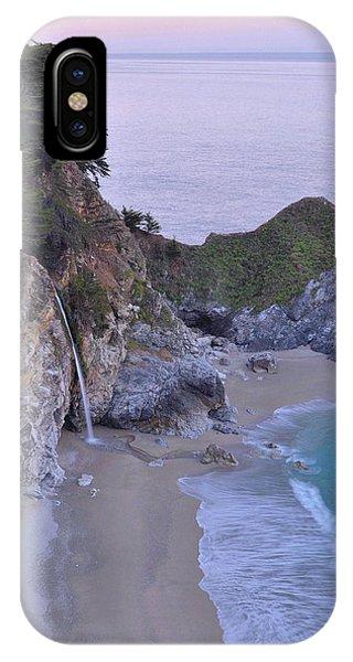 Mcway Falls At Dawn - Big Sur IPhone Case