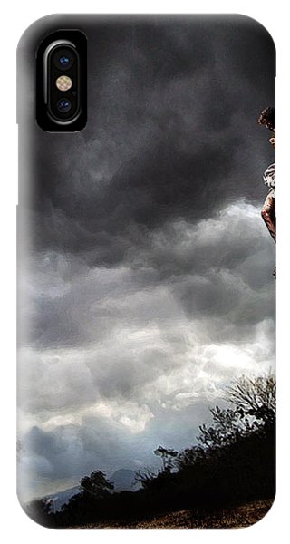 Me And Jesus IPhone Case