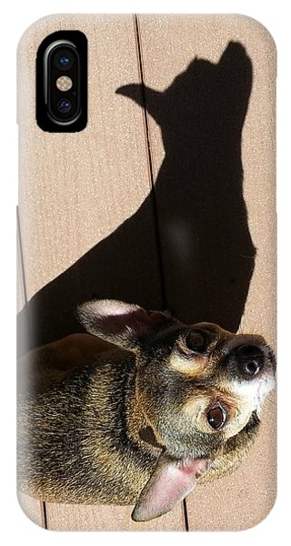 Me And My Shadow IPhone Case