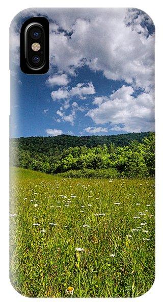 Black Rock Mountains IPhone Case