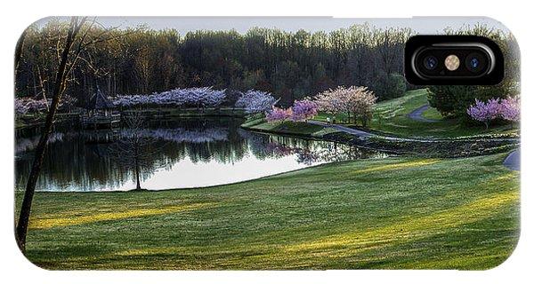 Meadowlark Gardens IPhone Case