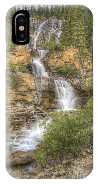 Meandering Waterfall IPhone Case