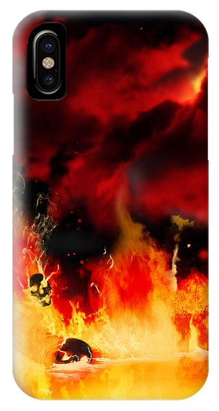 Meanwhile In Tartarus IPhone Case