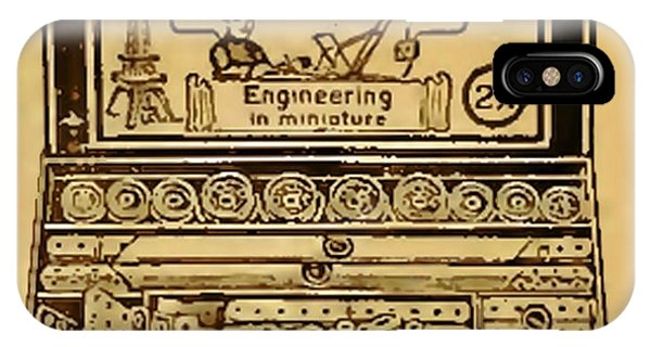 Meccano Steampunk Engineering IPhone Case