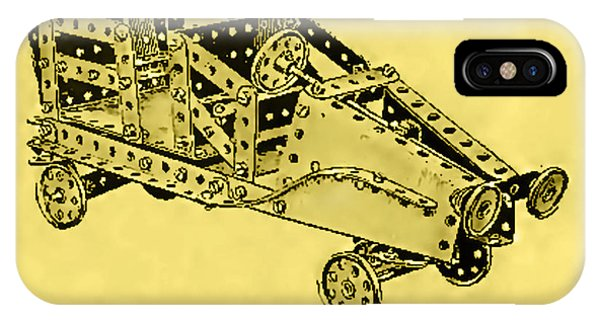 Meccano Steampunk Motorcar Coupe IPhone Case
