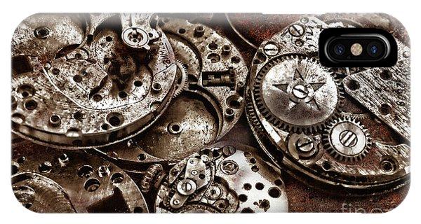 Rusty Watch Mechanism IPhone Case
