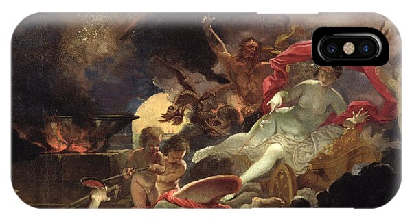 Cauldron iPhone Case - Medea Rejuvenating Eson Oil On Canvas by Domenicus van Wijnen