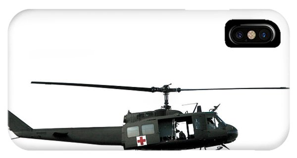 Helicopter iPhone Case - Medic Helicopter by Olivier Le Queinec