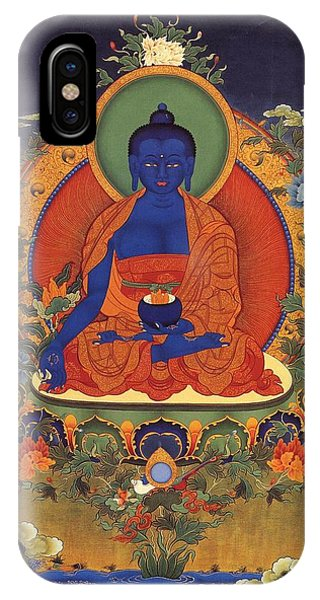 Medicine Buddha 8 IPhone Case