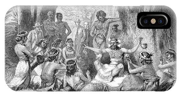 Micronesia iPhone Case - Medicine Man by Bildagentur-online/tschanz
