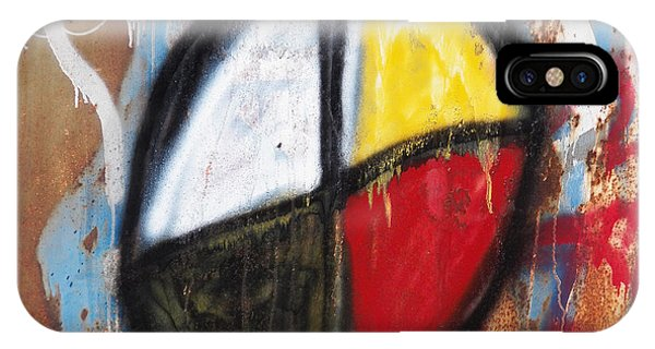 Medicine Wheel Graffiti IPhone Case