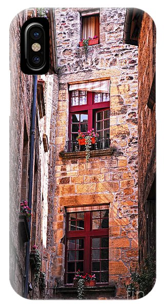 Stone Wall iPhone Case - Medieval Architecture by Elena Elisseeva