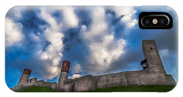 Medieval Castle In Checiny In Poland IPhone Case