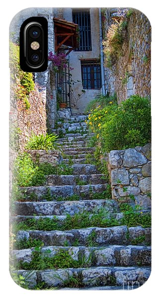 French Riviera iPhone Case - Medieval Saint Paul De Vence 1 by David Smith