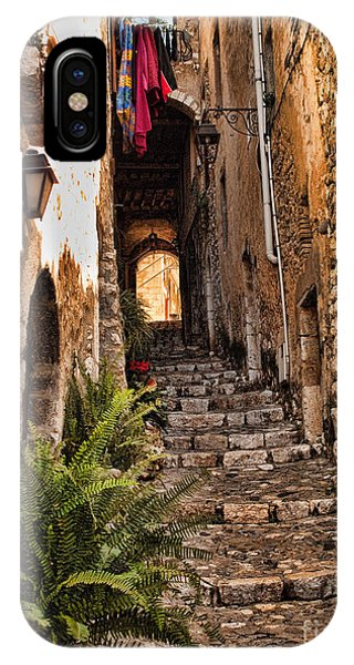 French Riviera iPhone Case - Medieval Saint Paul De Vence 2 by David Smith